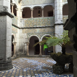 Pena Palace, Portugal  Courtyard