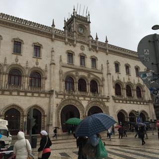 Plaza del Rossio y Convento do Carmo