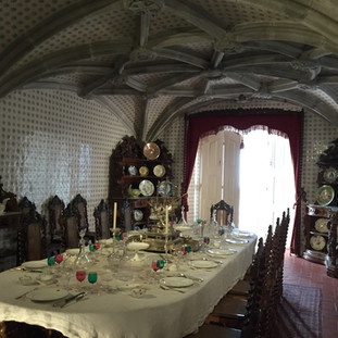 Pena Palace, Portugal  Dining Room