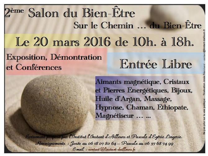 Salon du Bien-Être d'Ormesson - Mars 2016