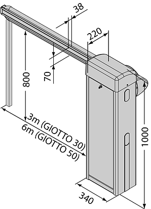 Automatic barrier gates sri lanka