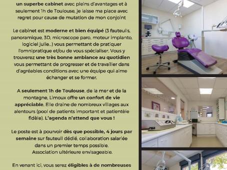 Annonce job - Limoux