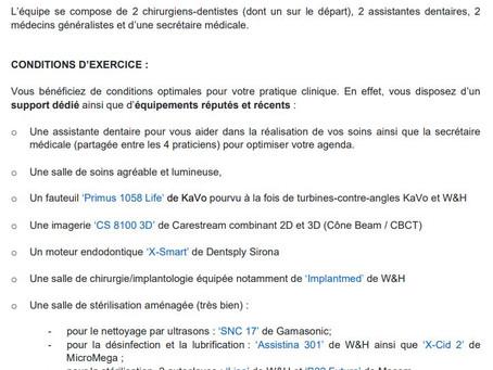 Annonce job - Avignon