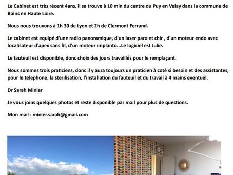 Annonce Job - Puy-en-Velay