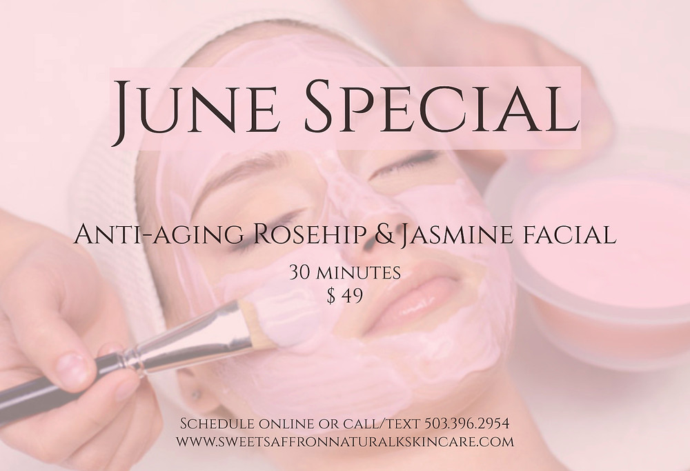 Month of June facial special