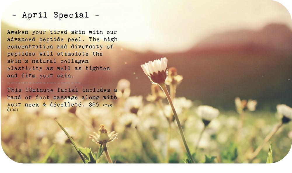 April special $85