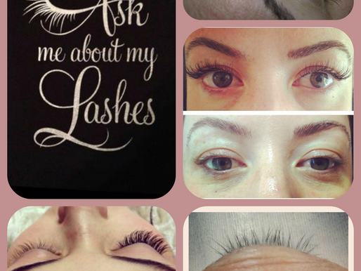All about the lashes!