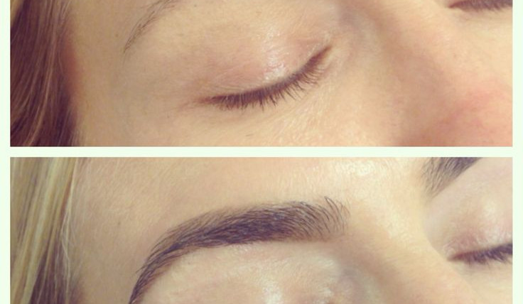 Perfect Brows and Lashes with Tinting