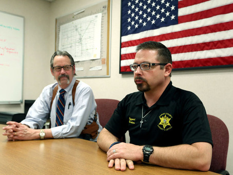Reflecting on a Tragedy: For Sheriff and Other Respondents, Shootings Posed Harrowing Test
