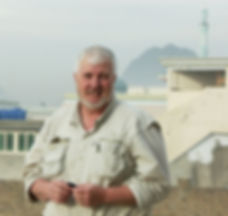 Jim Willis in Kandahar Province, Afghanistan