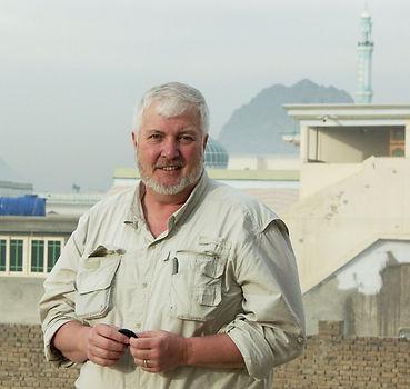 Jim Willis in Kandahar Province, Afghanistan