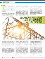 Situational Awareness and Deescalation i