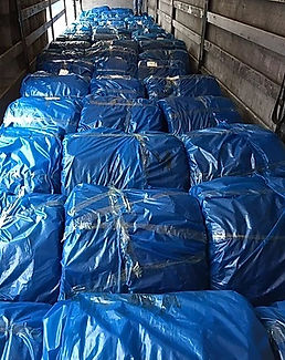Bale Wire (Oiled) Shipment Rosette Coils