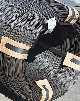 Bale Wire (Oiled) Rosette Coils 400-700k