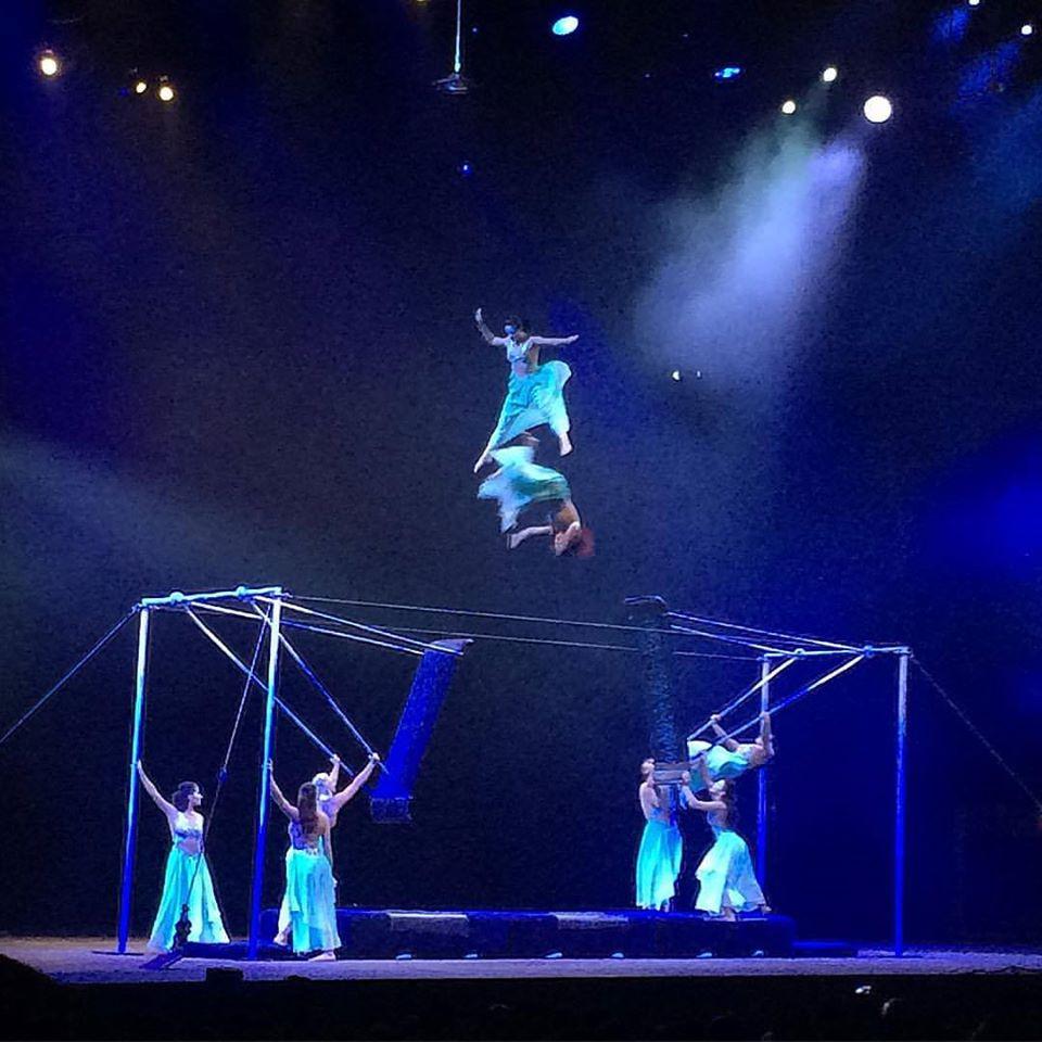 "Photo: Pep Gasol ""Cirque du Soleil"""