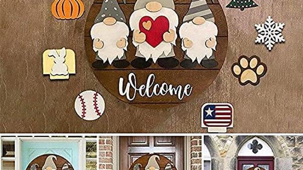 Welcome Sign Front Door