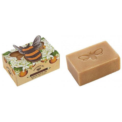 Handmade Honey Bar Soap Orange Blossom 6 oz.