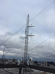 FORward Radio Antenna Installed 1-26-17.