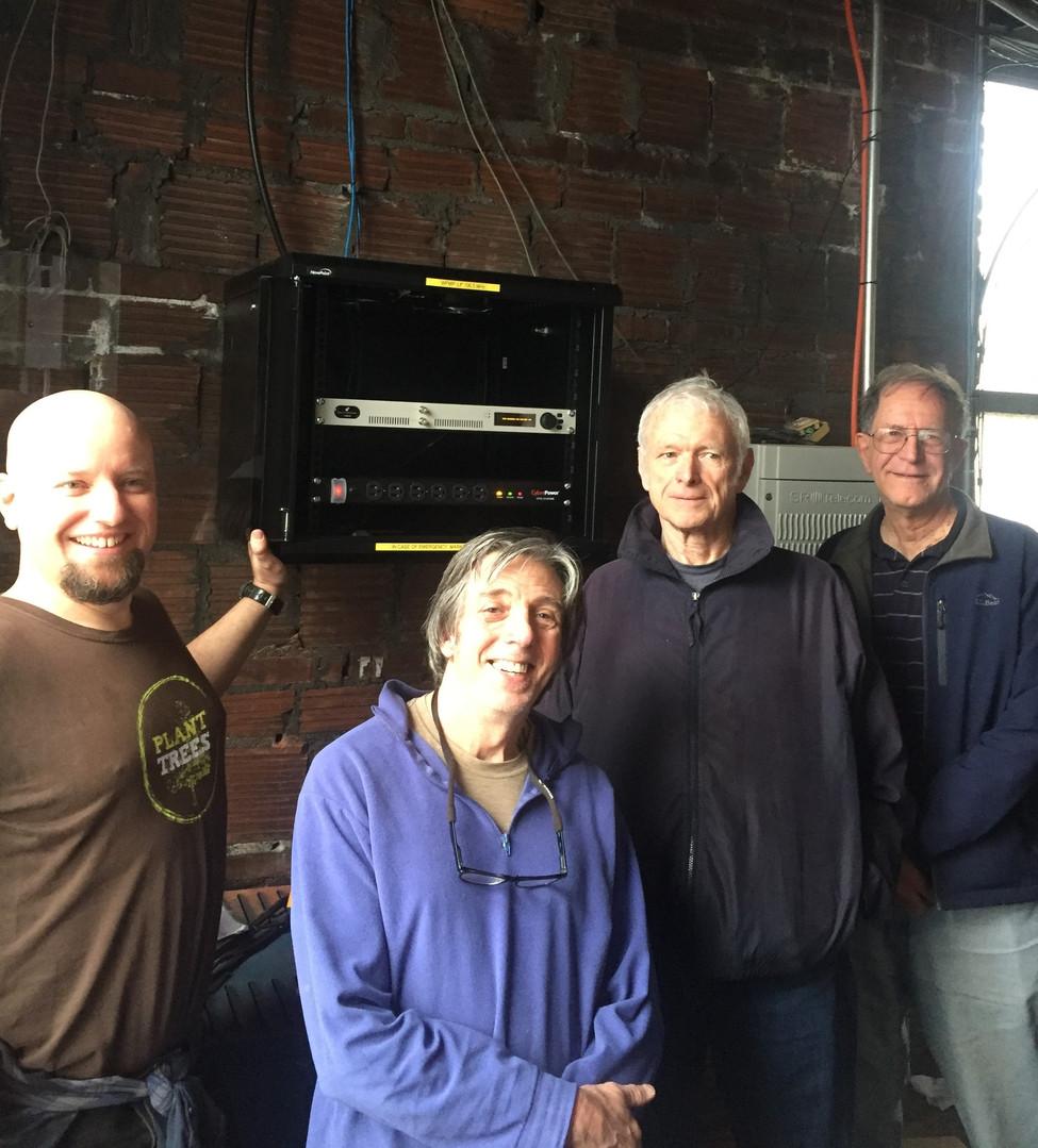 Turning on the transmitter - Justin Mog,