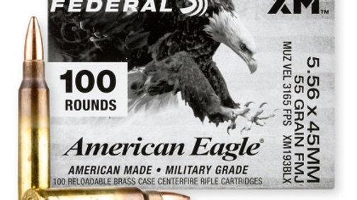 Federal American eagle 5.56 m193 55gr  fmj 1000 rounds