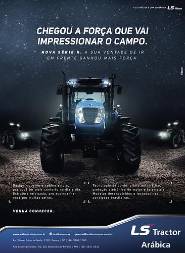 Nova série H da LS Tractor