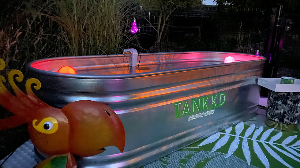 End Stock Tank 122x61cm - Green Label