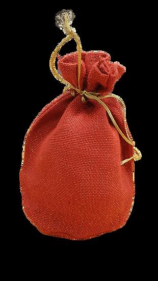 Jutesäck röd 6294