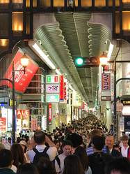 The Hustle and Bustle of Osaka