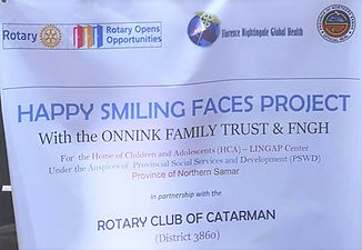Happy Smiling Faces Project