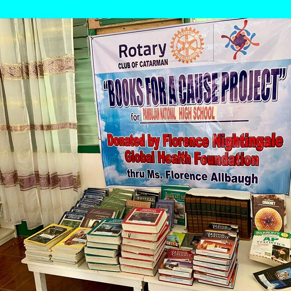 Books donated by FNGH.org
