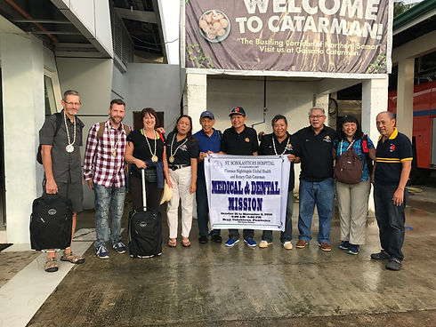 Rotary Club of Catarman meets us at the