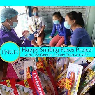 Happy Smiling Faces Project Cover photo.