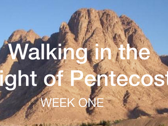 The Inseparable Connection Between Passover and Pentecost (Week 1 of 7)