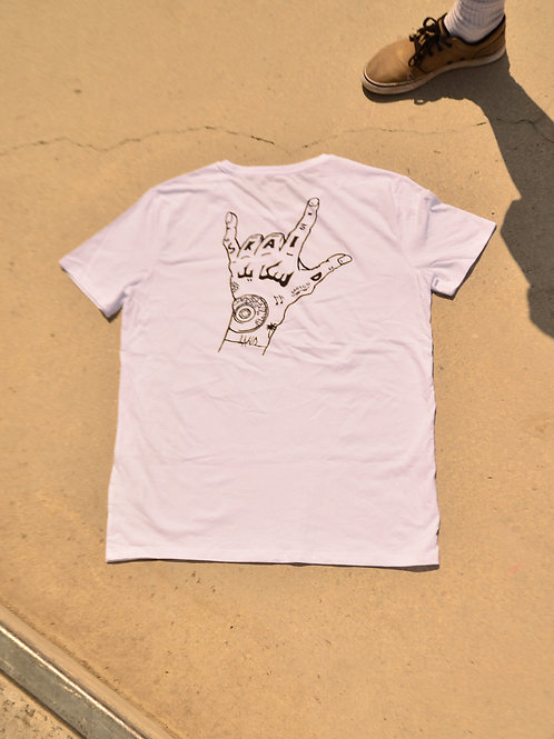 T-shirt arabic IBK Land -white