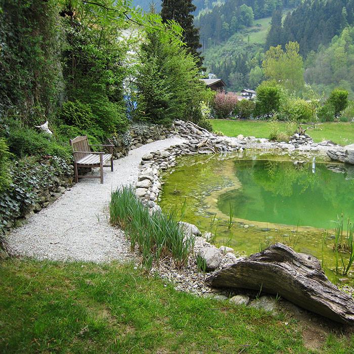 Konzept Gartenplanung