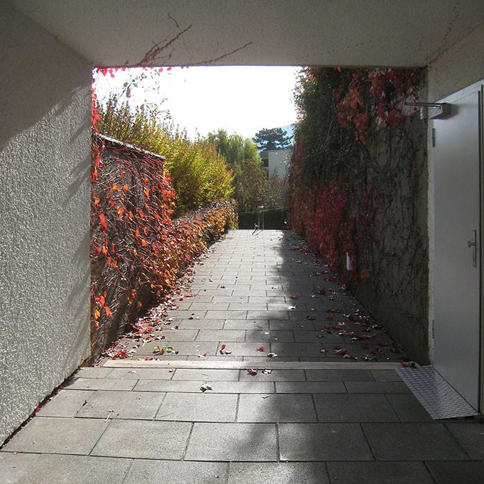 Konzept behindertengerechter Eingangsbereich
