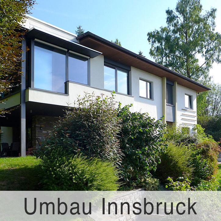 Umbau in Innsbruck
