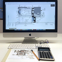 Ausführungsplan mit CAD gezeichnet