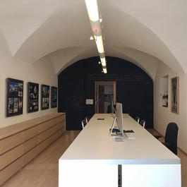 Unser Büro mit Gewölbe