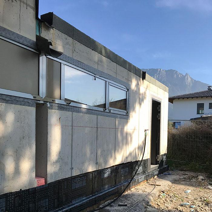 Einbau von Fenstern und Außentüren