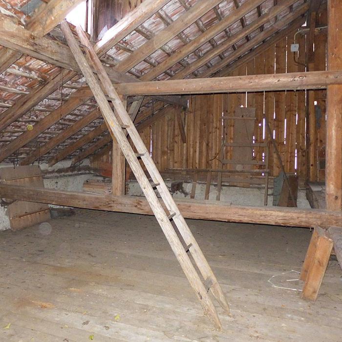 Konzept Dachbodenausbau und energetische Sanierung