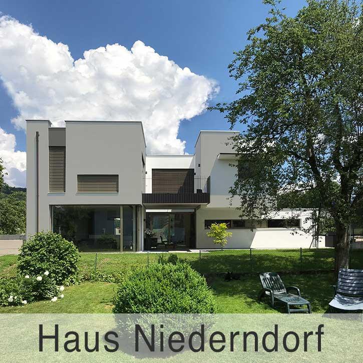Einfamilienhaus in Niederndorf