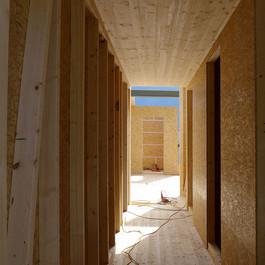 Holzbau Innenraum