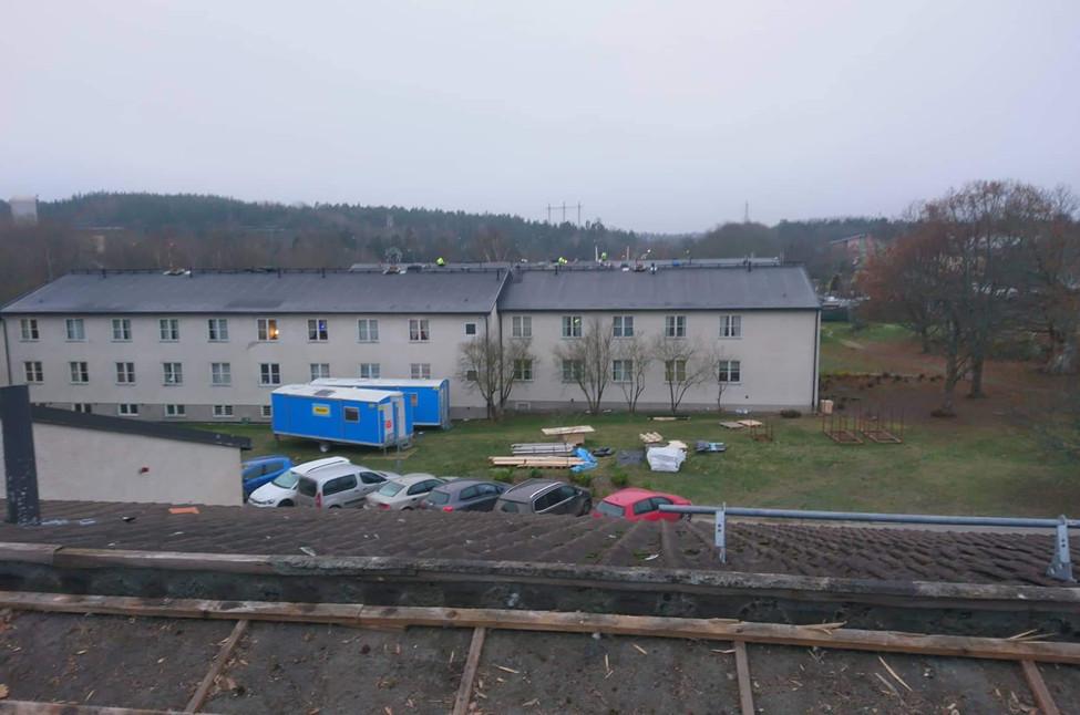 Nanska taktakere starter nytt prosjekt Skarpnäcks gårdsväg 12,14 og 16, Stockholm