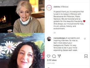 Vietri's Ritrovo: Susan Gravely in Conversation with Paola Vojnovic