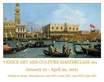 VENICE ART AND CULTURE MASTERCLASS 101-1