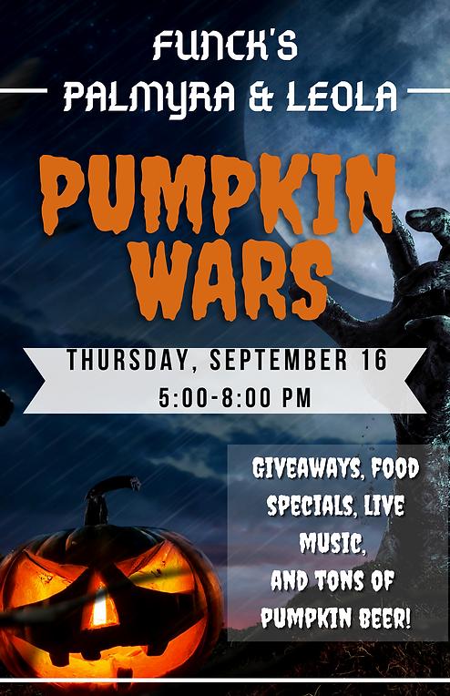 Pumpkin Wars 2021