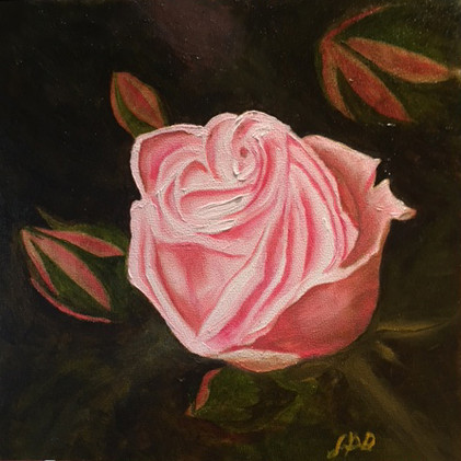 New Artwork Title     Pink Rosebud_1