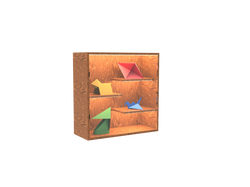 Case with Origami