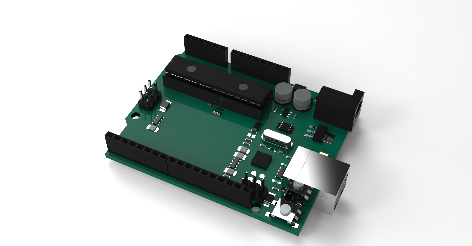 Arduino perspective view